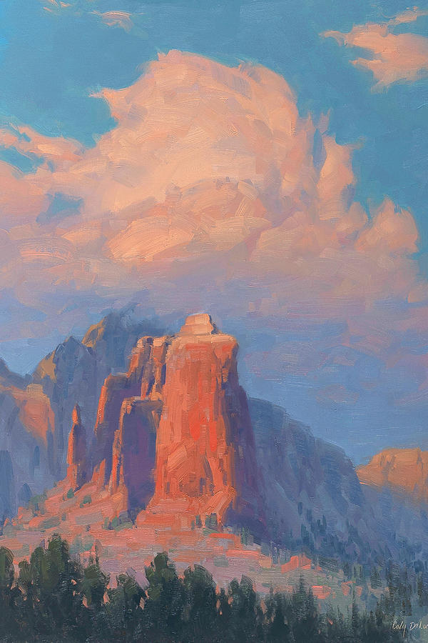 Sedona Painting - Coffee Pot Afternoon by Cody DeLong