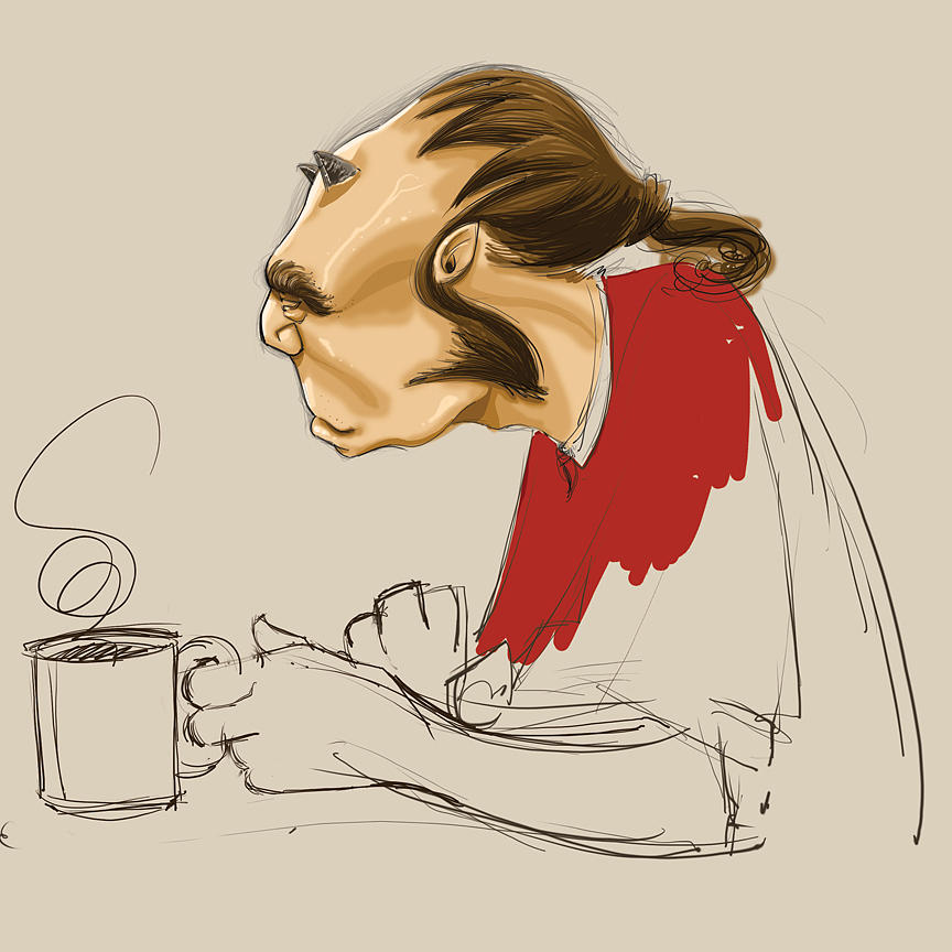 Coffee Digital Art by Raj