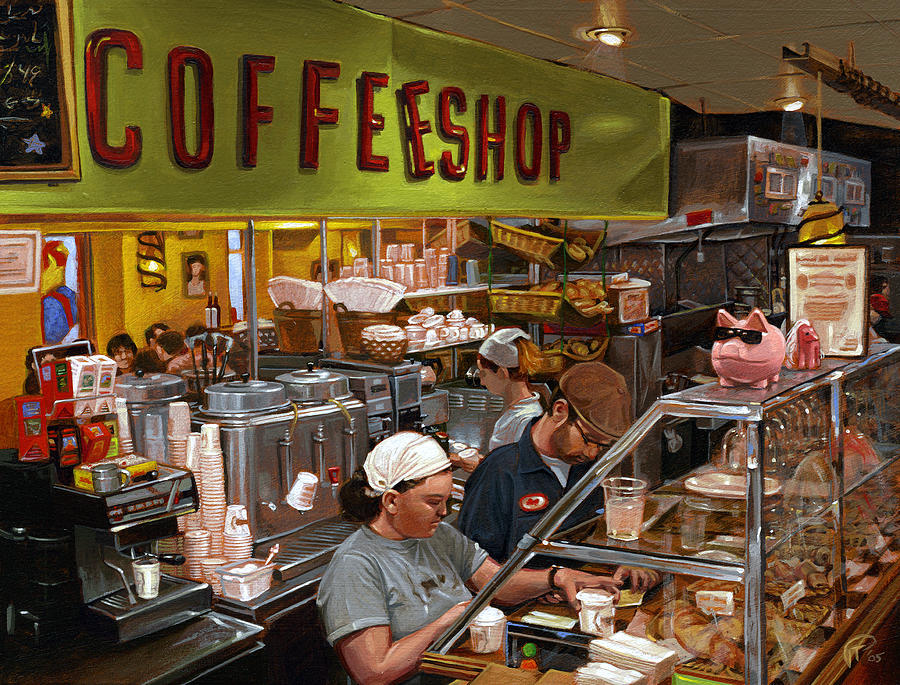 the coffee shop 3 essay Java culture coffee shop business plan executive summary java culture is a gourmet coffee bar that boasts a fun, relaxed atmosphere for its customers.
