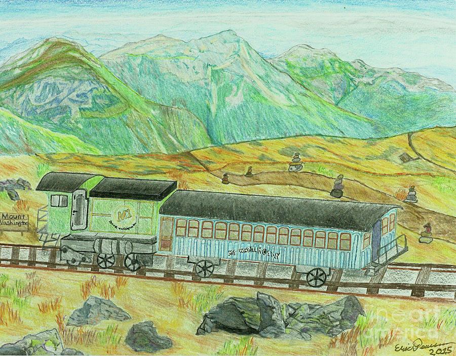 Cog Rail Mt Washington by Eric Pearson
