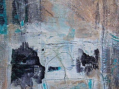Tan Painting - Cognitive 2 by KA Davis