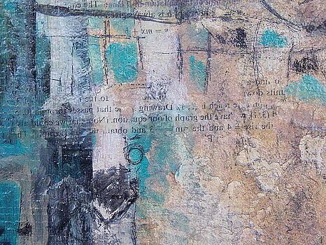 Tan Painting - Cognitive 3 by KA Davis