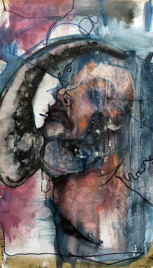 Gay Mixed Media - Coition by Kaelin Ian Coooer