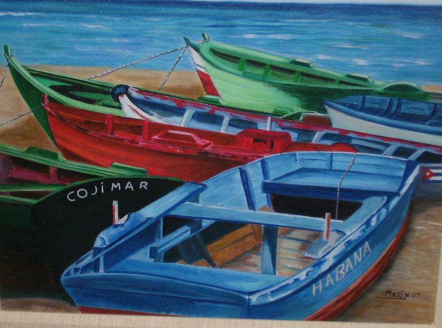 Cojimar- Cuba Print by Rafael Marin