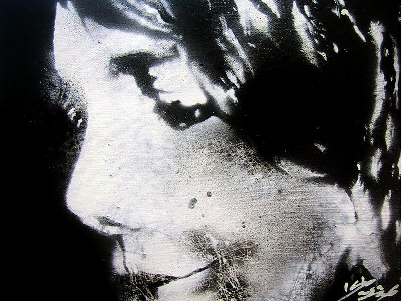 Stencil Painting - Colasa-020 by Colasa