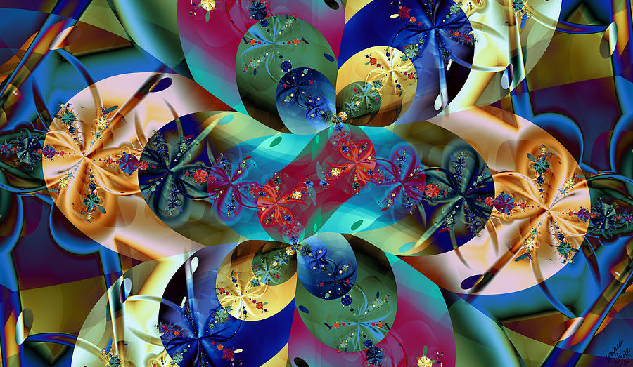Color Digital Art - Colburst by Lauren Goia