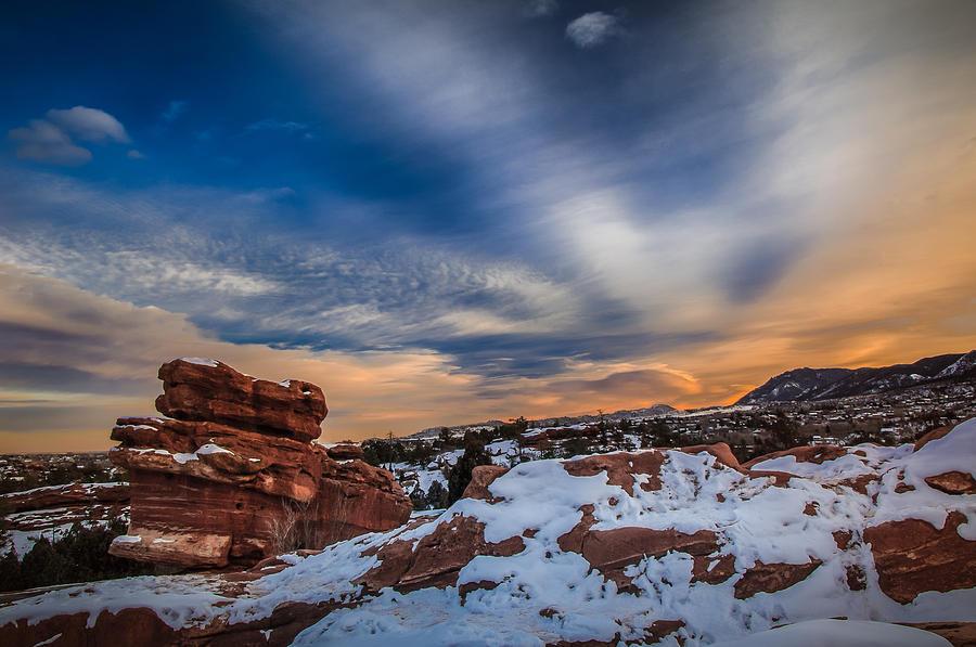 Colorado Photograph - Cold Comfort by Philip Esterle