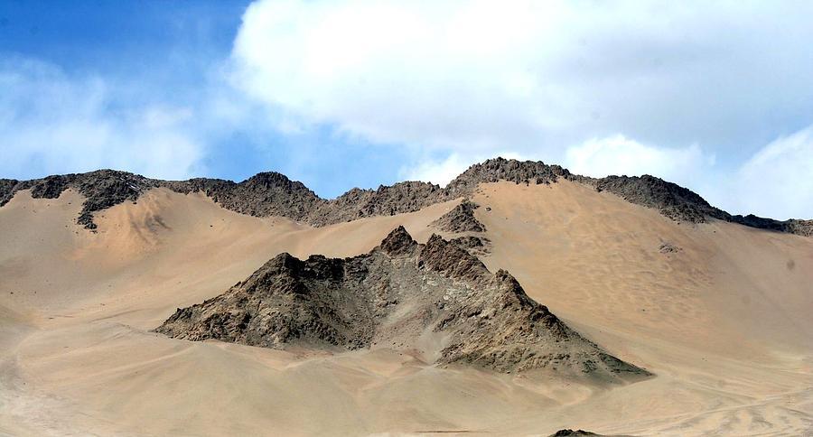 Cold Desert Photograph - Cold Desert by Shyamal Chakrovorty