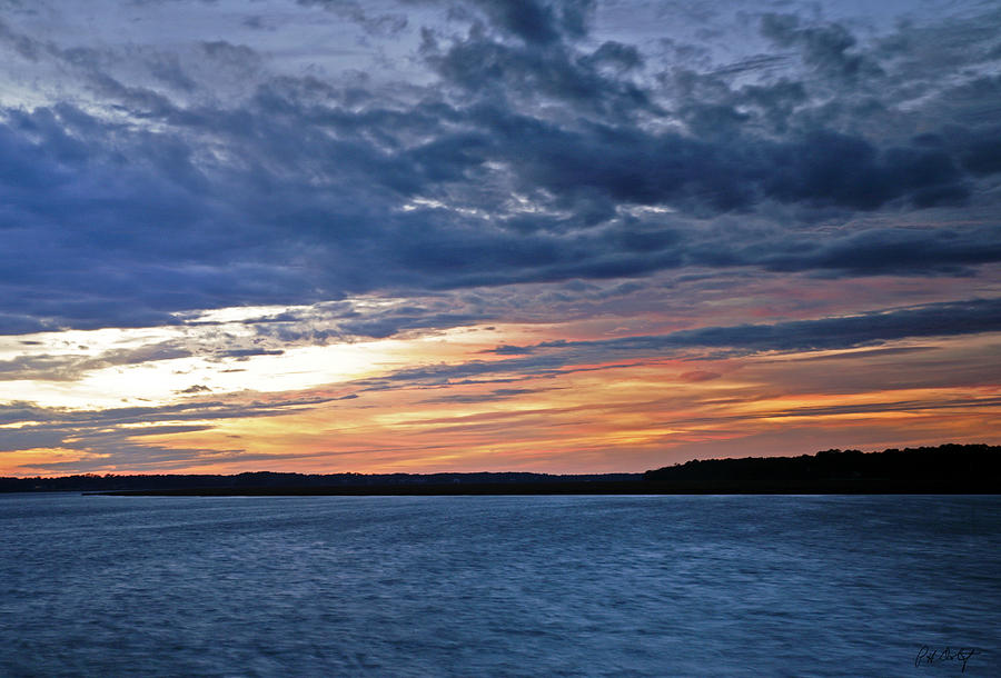 Sunset Photograph - Cold Front by Phill Doherty