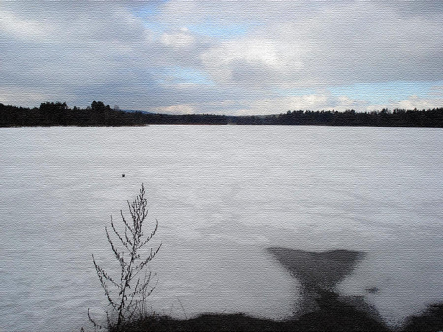 cold lake by Evelyn Patrick