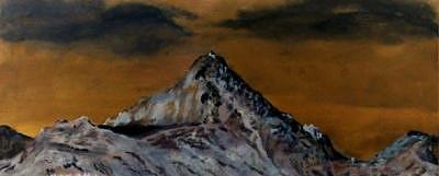 Mountain Painting - Cold by Richard  Hubal