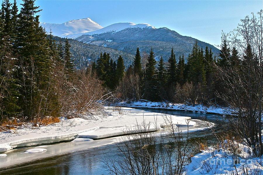 River Photograph - Cold River Bend by Rick  Monyahan