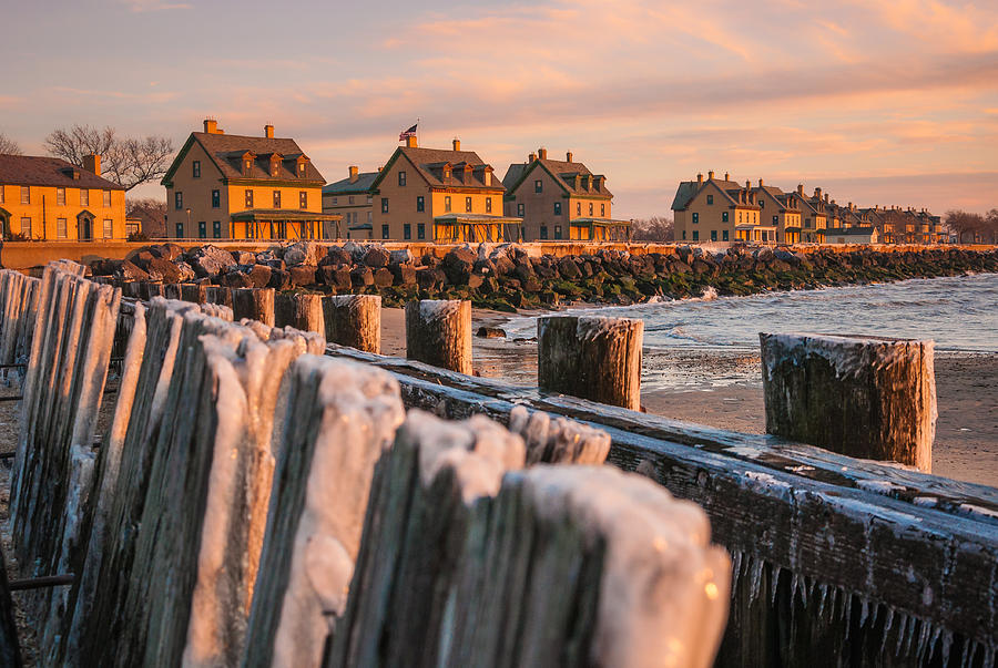 Cold Row Photograph by Kristopher Schoenleber