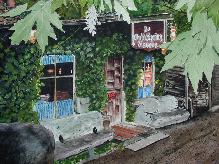 Building Painting - Cold Spring Tavern by Dwight Williams
