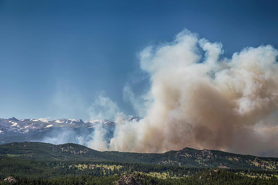 Cold Springs Fire Boulder County Colorado Photograph