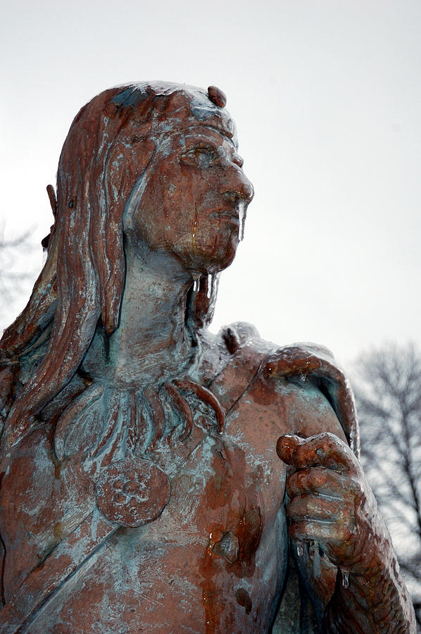 Indian Photograph - Cold Stare by Jame Hayes