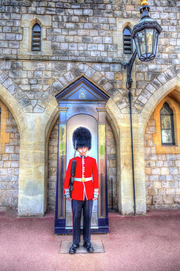 Windsor Castle Photograph - Coldstream Guard by David Pyatt