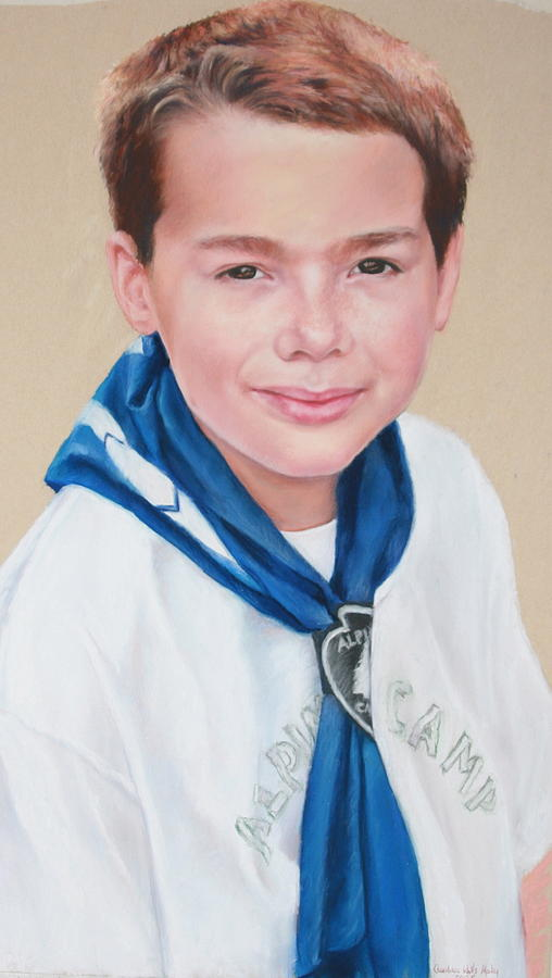 Portrait Painting - Colin by Candy Maley