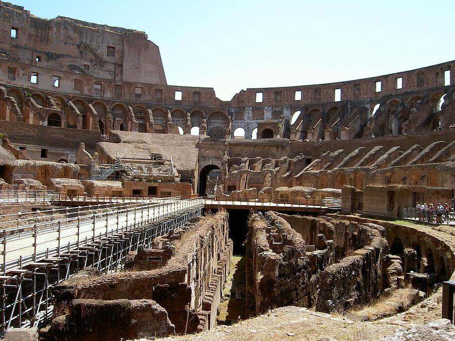Rome Photograph - Coliseum 2 by Blima Efraim