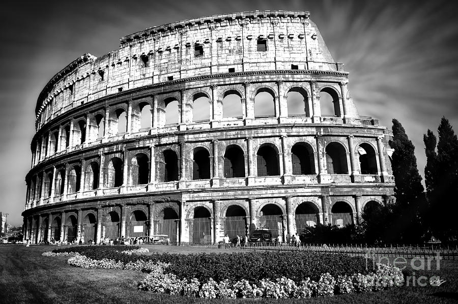 Colosseo Photograph - Coliseum Rome by Stefano Senise