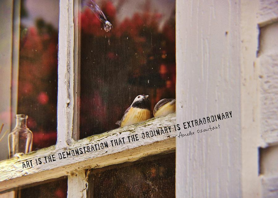 Window Photograph - Collectibles Quote by JAMART Photography