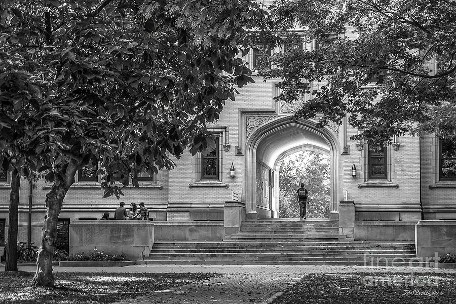 College Of Wooster Photograph - College Of Wooster Kauke Arch by University Icons