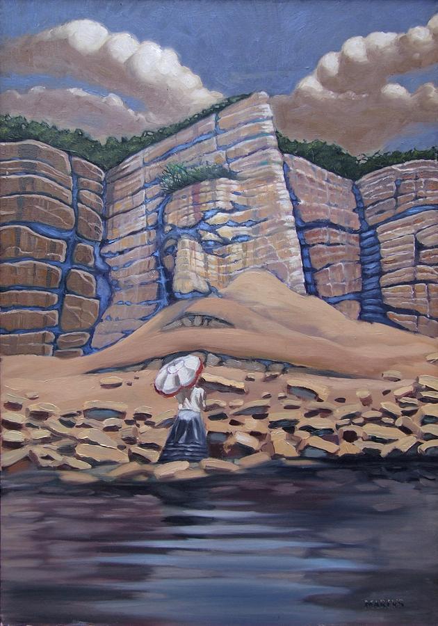 Surreal Painting - Collis De Mentis by Mariusz Loszakiewicz