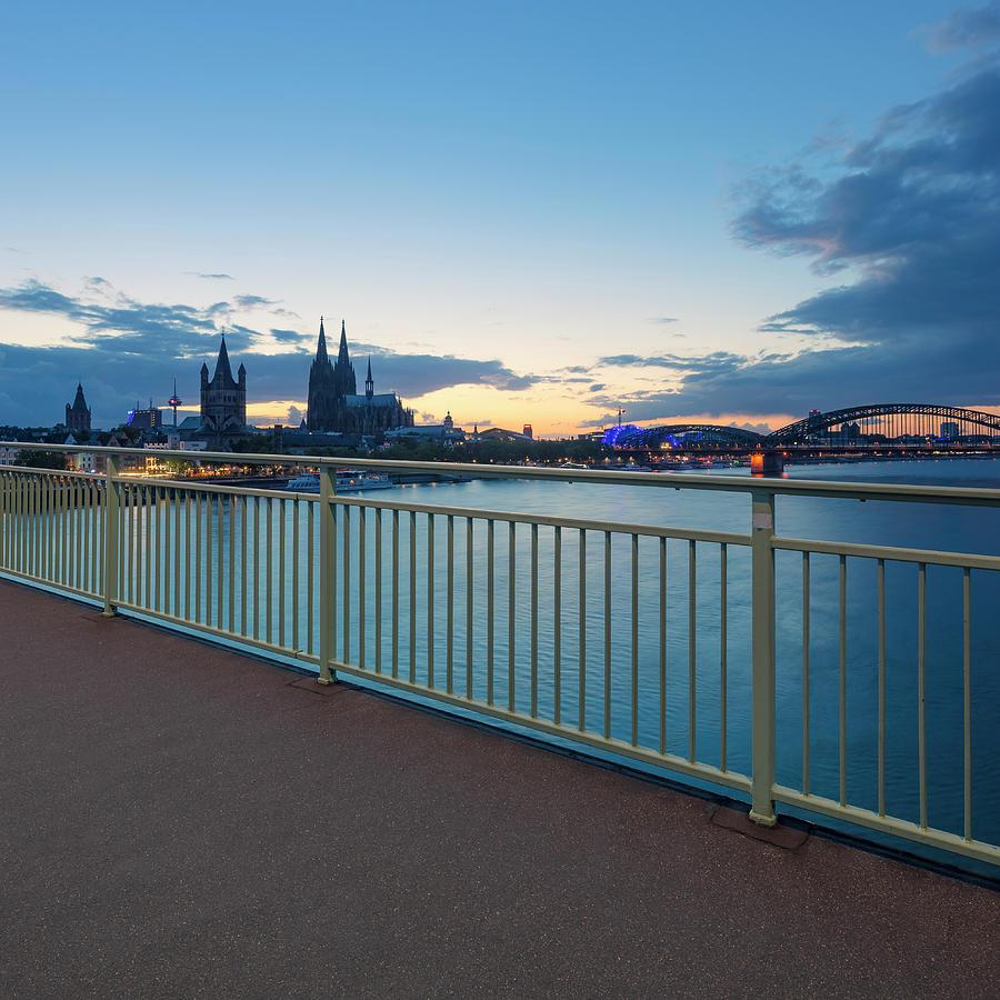 Cologne Photograph - Cologne 23 by Tom Uhlenberg
