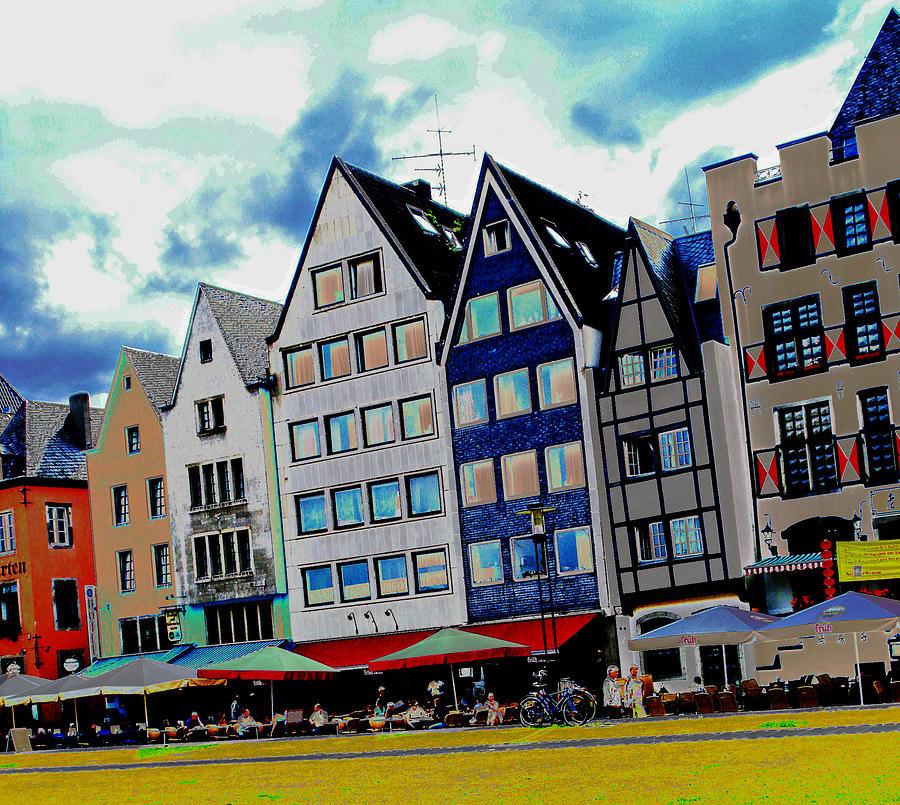 Rhine Photograph - Cologne On The Rhine by Jeff Barrett