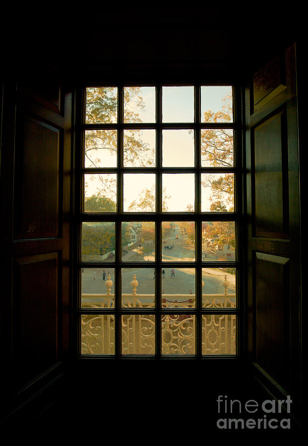 Williamsburg Photograph   Colonial Capitol Window By Rachel Morrison