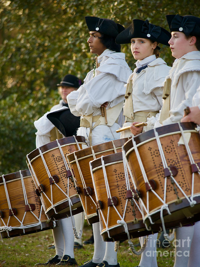 Colonial Drummers Photograph