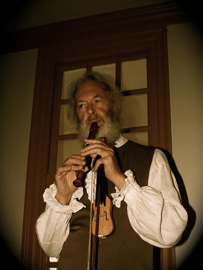 Colonial Photograph - Colonial Entertainer by Aimee Galicia Torres