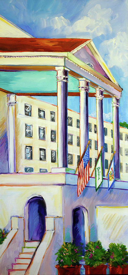 Colonnade at the Greenbrier by Judi Krew