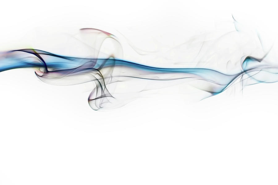 Abstract Photograph - Color and Smoke V by Scott Norris