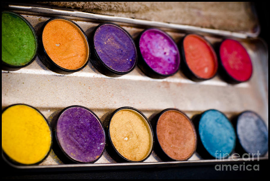 Color Photograph - Color Box by Tina Zaknic - Xignich Photography