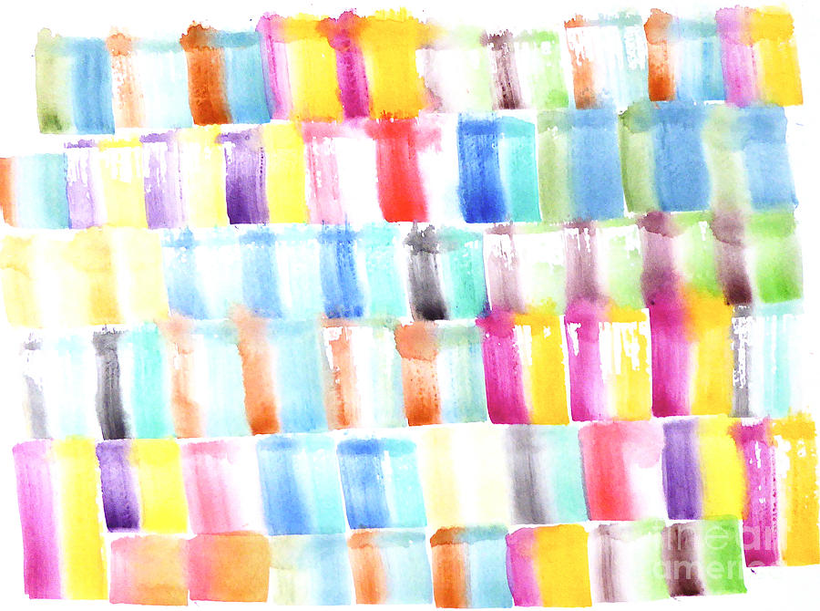 Color Burst 3 Painting by Roberto Concha