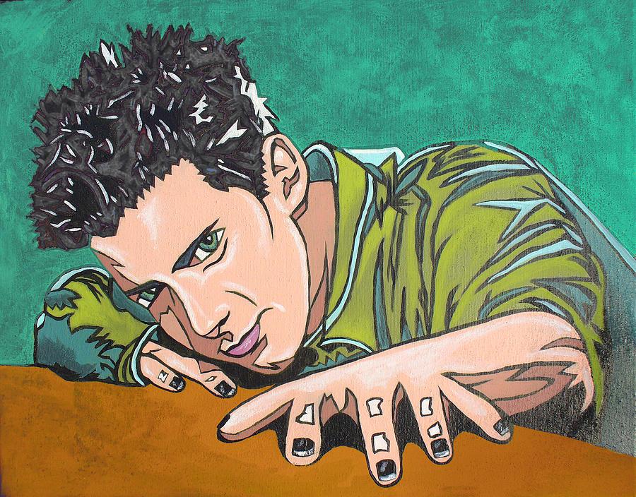 Seth Green Digital Art - Color Change by Sarah Crumpler