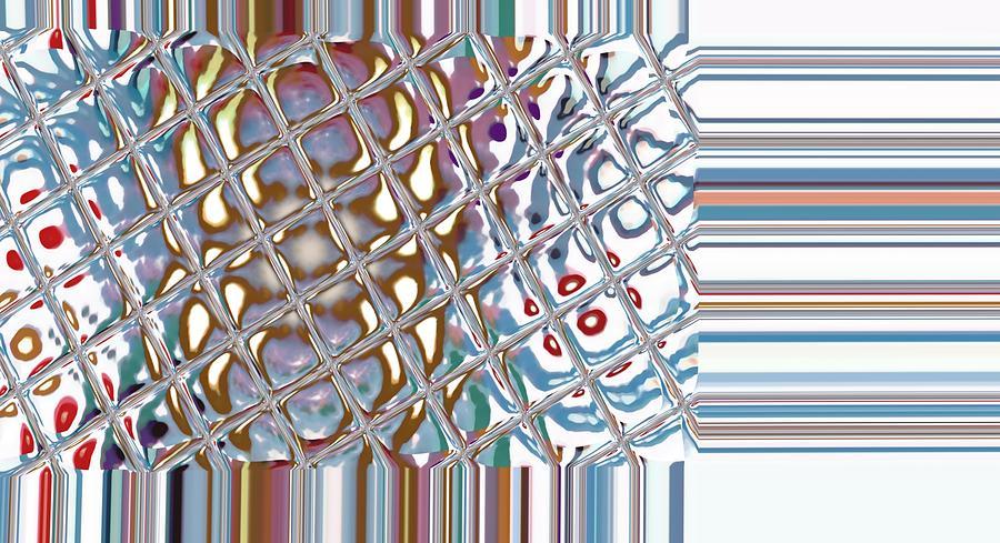 Digital Digital Art - Color Crystal by Thomas Smith