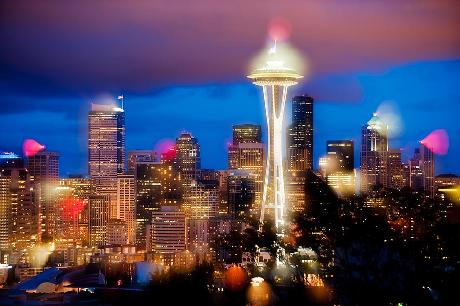 Seattle Photograph - Color Explosion  by Yoshiki Nakamura