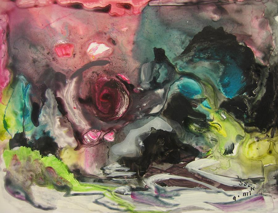 Abstract Painting - Color Fever 120 by Seon-Jeong Kim