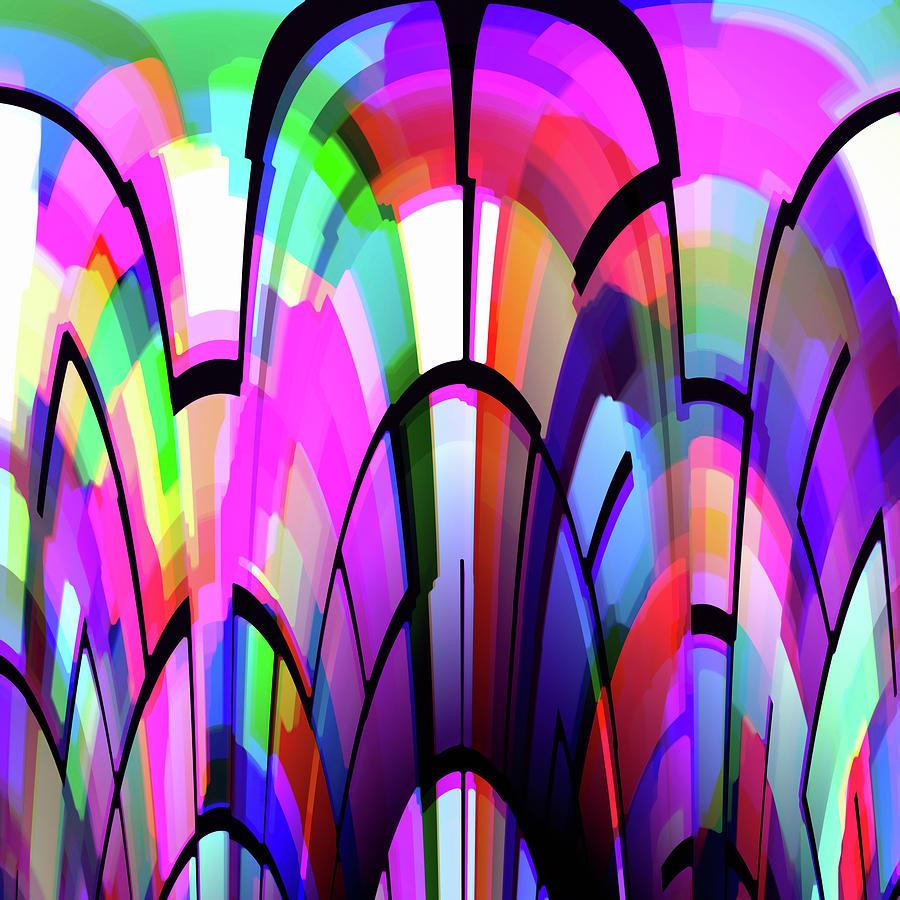 Color Digital Art - Color Gates by Mihaela Stancu