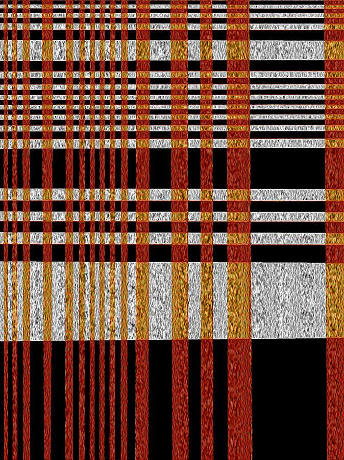 Pattern Digital Art - Color Grid by Art Spectrum