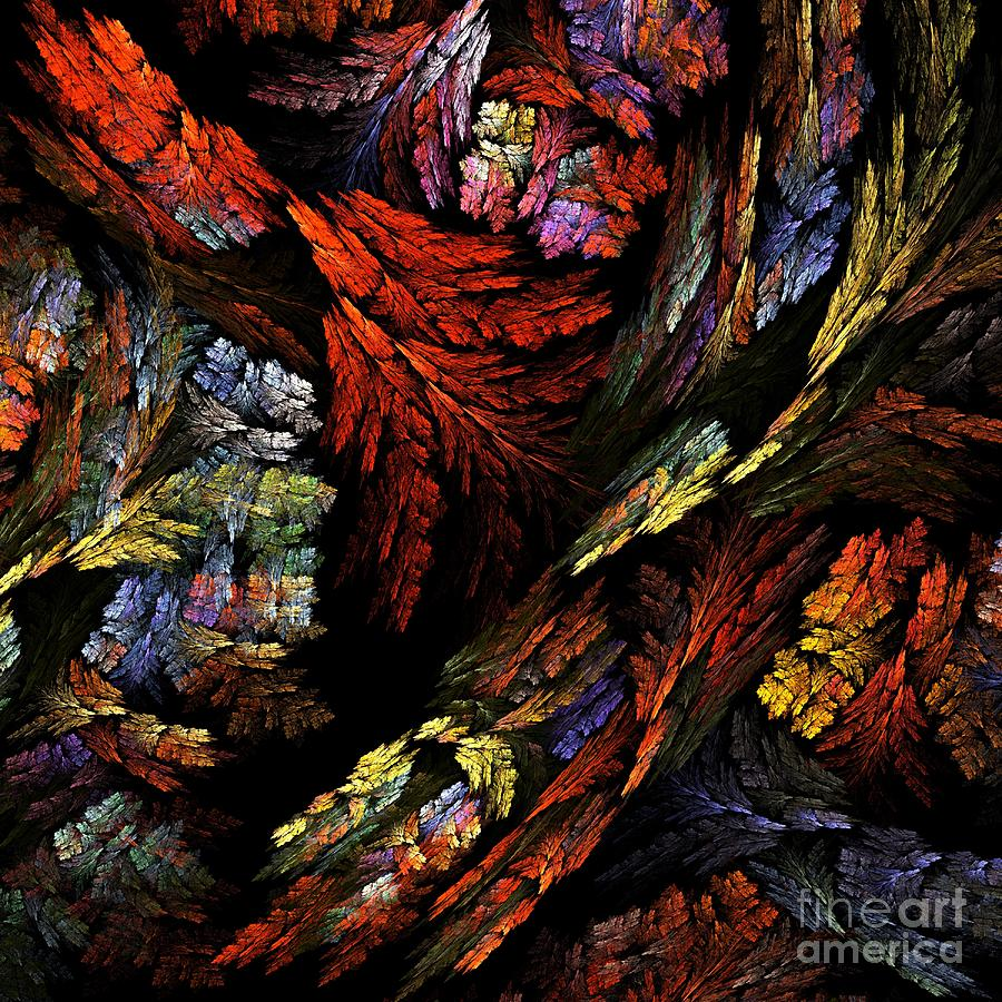 Color Harmony Painting By Oni H
