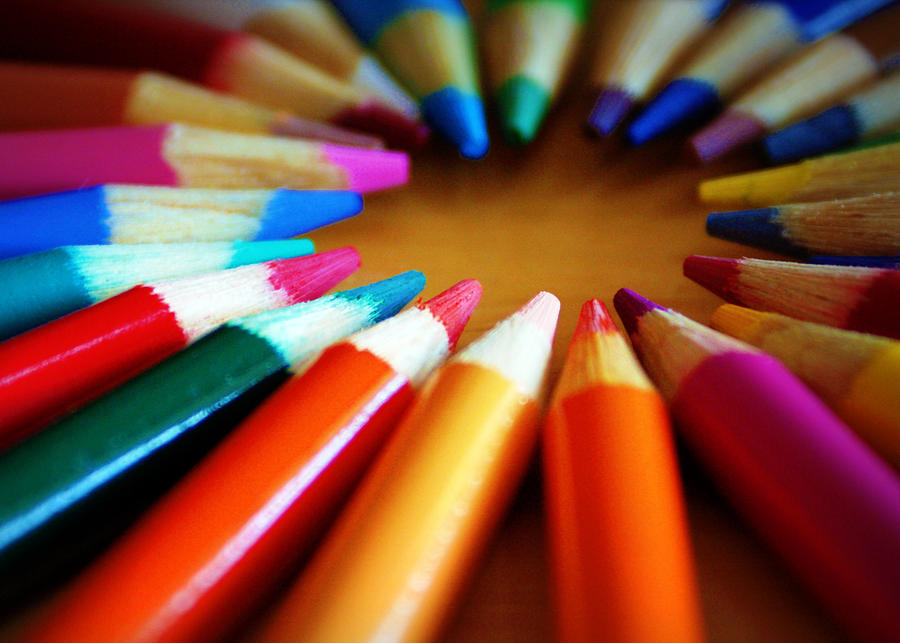 Pencils Photograph - Color-ific by Cricket Hackmann