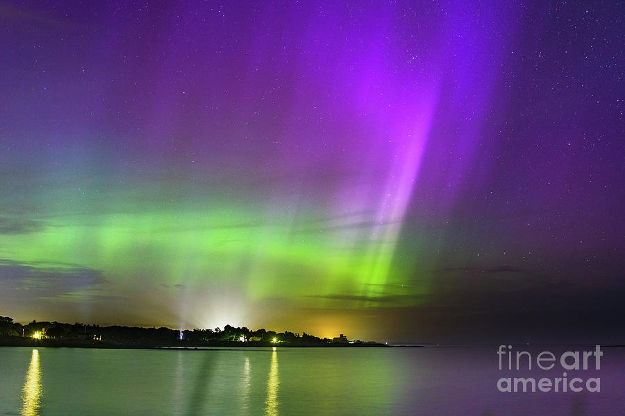 Northern Lights Photograph - Color Of The Night by Joshua Blash