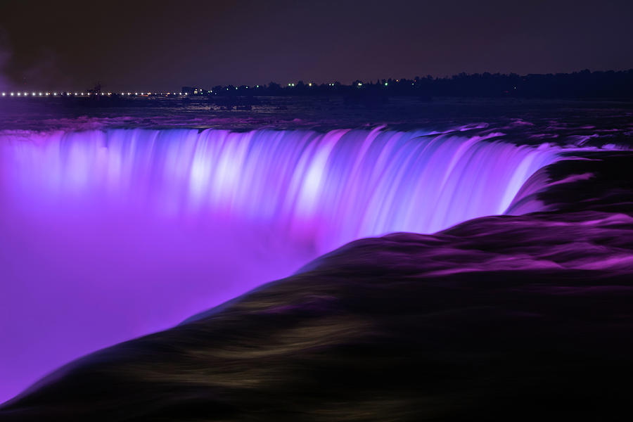 Canada Photograph - Color On Horseshoe Falls #3 by Michael Blanchette