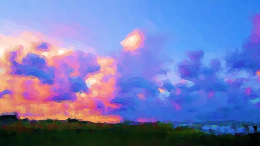 Color Sky1 by Pepsi Freund