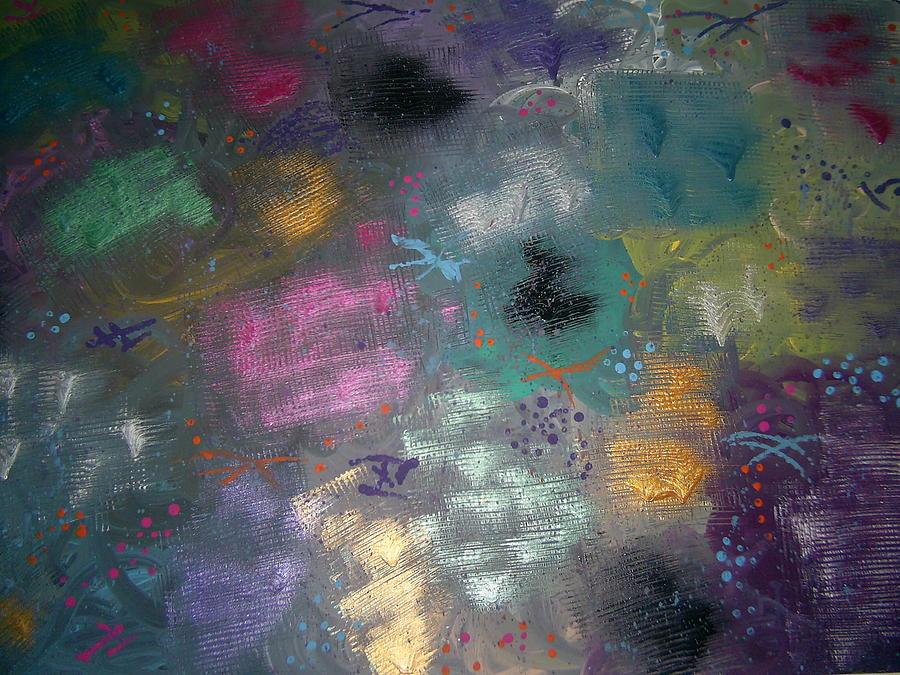 Mix Painting - Color Splash by Jill Christensen