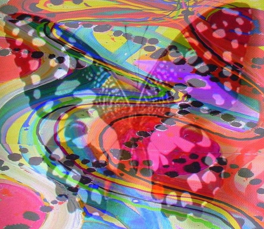 Butterfly Digital Art - Color Swirl Butterfly by Sandie Smith