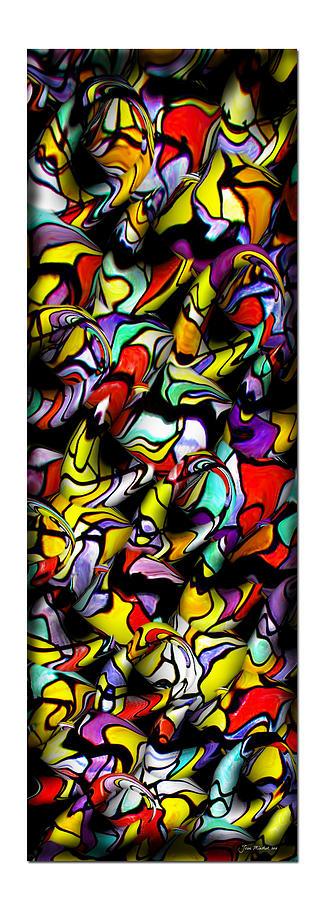 Collage Photograph - Color Unfolds by Joan  Minchak